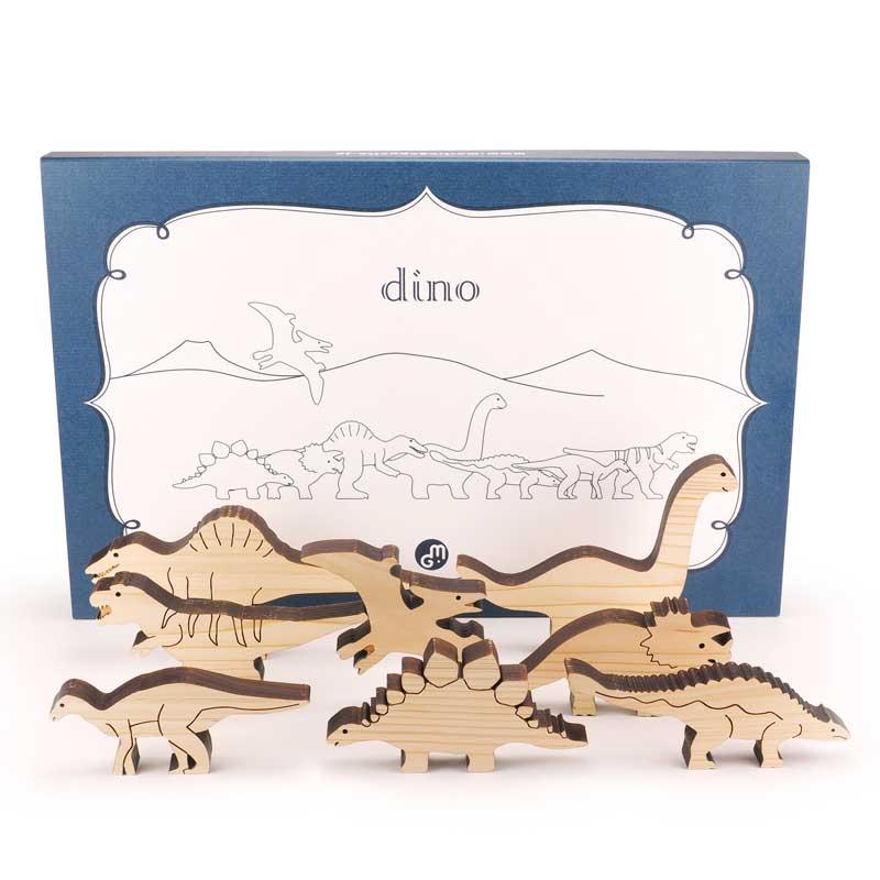 恐竜の積み木<br>DINO(ディノ)